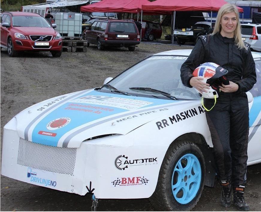 Stolt sponsor av Liz Wessel i Wessel Motorsport.